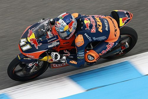 Jerez Moto3: Binder gets first win after miracle comeback from last