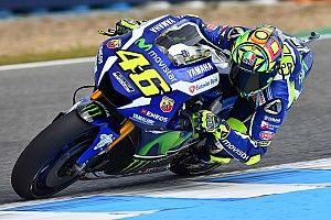 Jerez MotoGP: Rossi denies Marquez by 0.046s in third practice