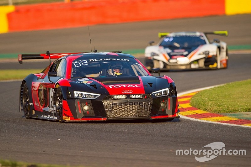 The Team WRT keeps faithful to the podium at the Total 24 Hours of Spa