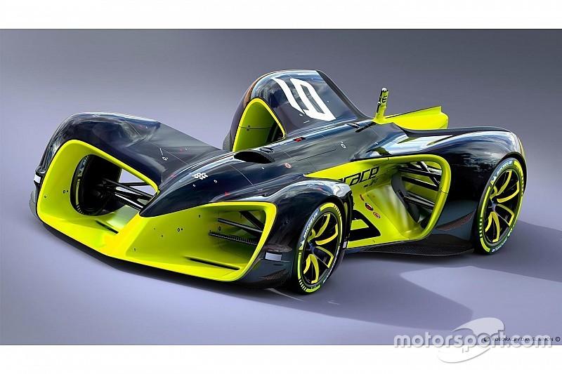 ロボレース首脳陣が来日。「これまでのレーシングカーの中で最速」と記者会見で自信