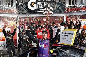 "Hamlin wins Watkins Glen despite ""worst pain I've had to go through"""