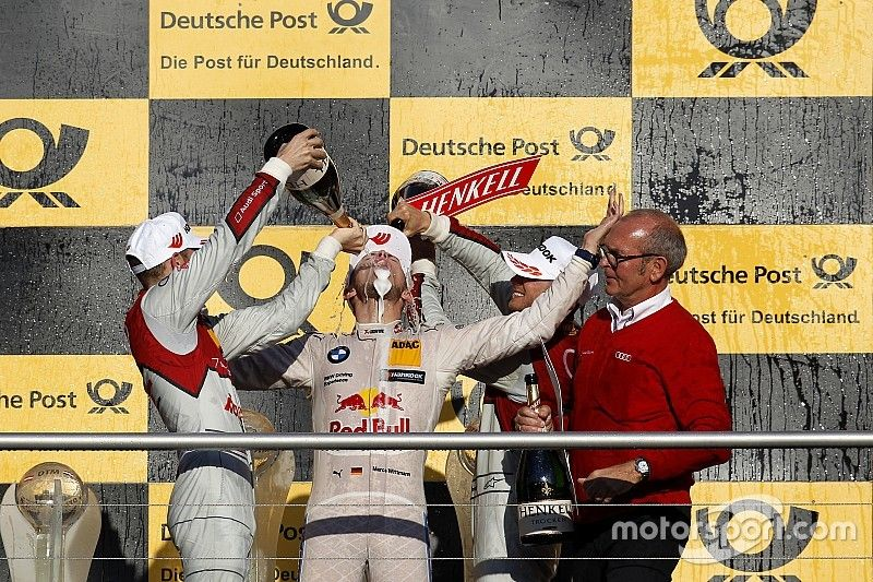 Hockenheim DTM: Mortara dominates, but Wittmann takes title