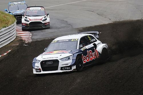 Germany WRX: Ekstrom inches closer to title after topping Day 1