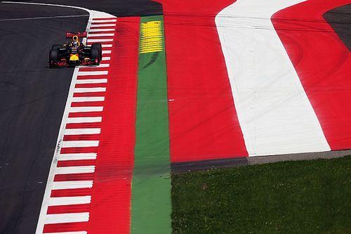 "Ricciardo: Kerbs doing their job, treating them ""like a wall"""