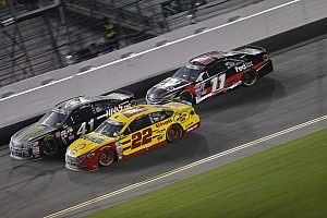 """Busch faults Logano for """"aggressive mistake"""" on last lap"""