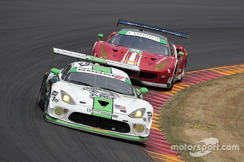 Viper Exchange overcomes performance gap to finish fourth in The Sahlen's Six Hours of The Glen