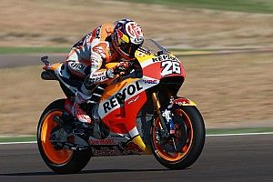 """Pedrosa: """"Destroyed"""" front tyre made Misano repeat impossible"""