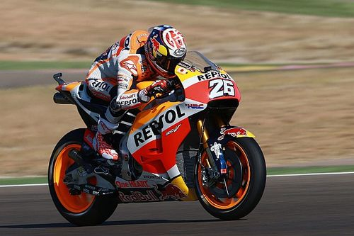 "Pedrosa: ""Destroyed"" front tyre made Misano repeat impossible"