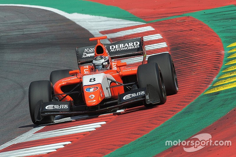 Spielberg F3.5: Panis goes from fourth to first in the pits