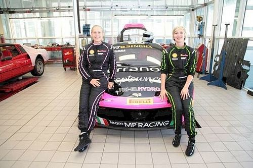 Le sorelle Gostner al Mugello in classe GT Cup con MP Racing