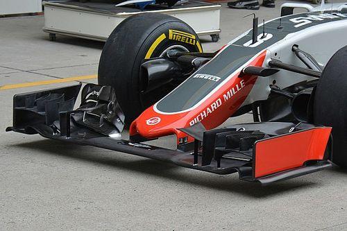 La Haas propone un'ala anteriore evoluta