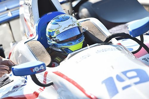 Enerson to return for final two IndyCar races