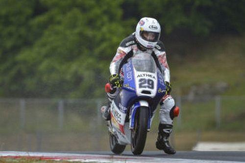 CIV Moto3: Spinelli trionfa sul bagnato. Pagliani ancora leader