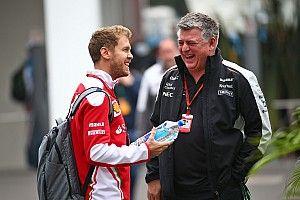 Босс Racing Point увез Феттеля из Сильверстоуна на своей машине