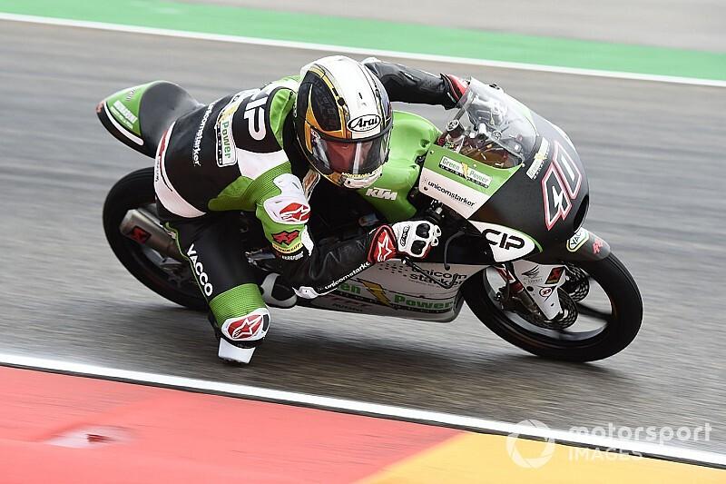 Moto3: Binder arretrato di 6 posizioni in griglia in Thailandia