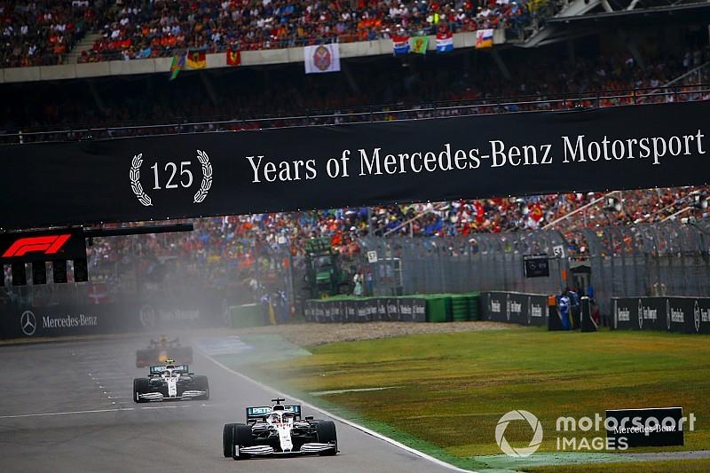 """Mercedes wil niet vaker F1-races sponsoren: """"Het is aan Liberty"""""""