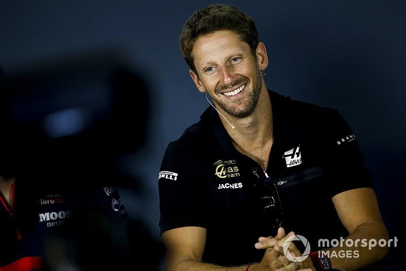 """Grosjean était """"plus inquiet l'année dernière"""" pour son baquet"""