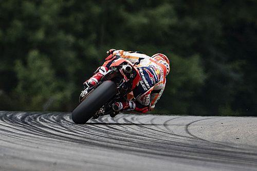 Маркес закончил лидером вторую тренировку Гран При Германии