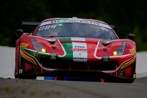 GT World: Giorgio Roda a Monza sulla Ferrari di AF Corse