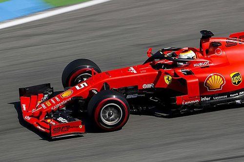 德国大奖赛FP1:维特尔主场暂时领先,博塔斯险撞墙