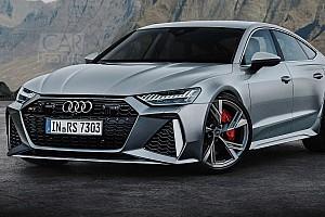 Renderképeken az Audi RS7 az új RS6 Avant külsejével