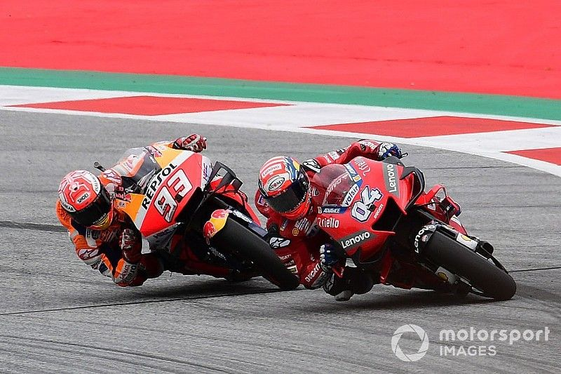 MotoGP Spielberg 2019: Dovizioso bezwingt Marquez im engen Duell
