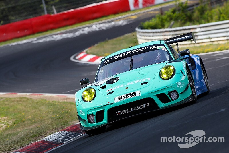 Pilet joins Falken Porsche team for VLN finale