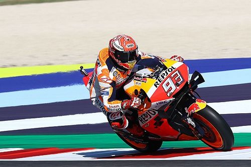 Marquez putte motivatie uit incident met Rossi in Q2