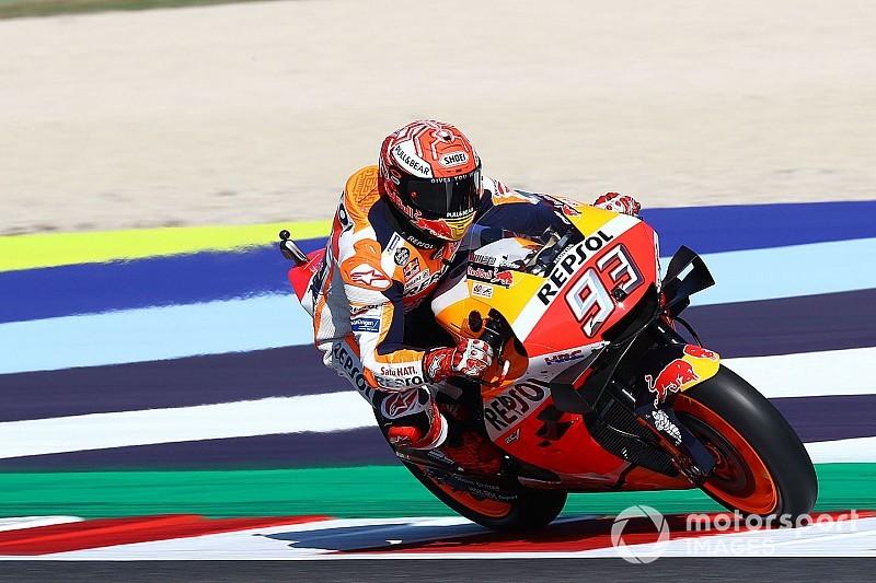 Marquez putte motivatie uit incident met Rossi in Q2