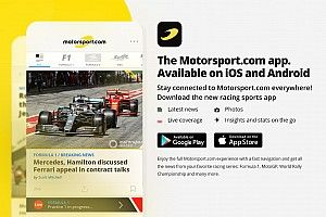 Motorsport.com launches all-new mobile app