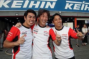 「とにかくホッとした!」1号車GTNET GT-R、2年連続でST-Xチャンピオンに輝く