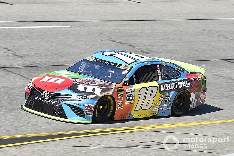 Kyle Busch wins Stage 2 at Richmond; JGR sweeps top four