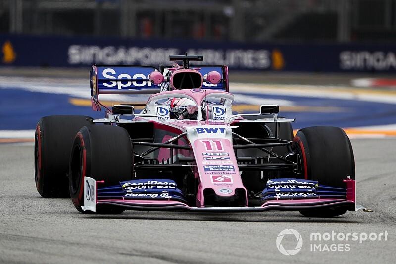 Perez grid cezası aldı