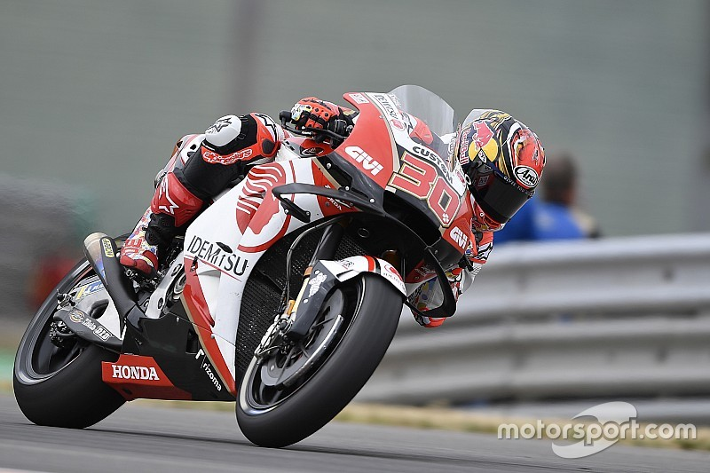 "MotoGPドイツ予選:負傷の中上貴晶、""サムライ魂""で10番手。マルケスがPP"