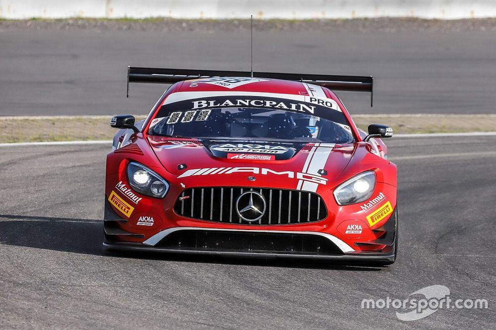 Marciello e Abril in pole a Budapest con la Mercedes-AKKA ASP
