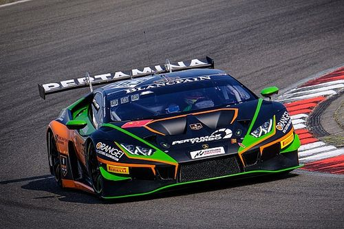 Nurburgring Blancpain: Caldarelli, Mapelli lead Lamborghini 1-2
