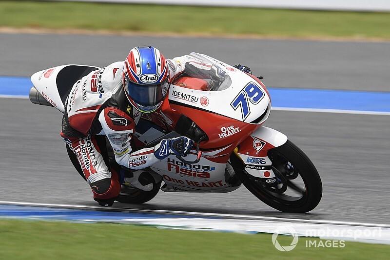 國井勇輝Moto3参戦決定。Honda Team Asiaの2020年ラインアップ発表