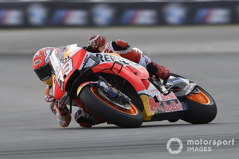 """Márquez: """"Hice el tiempo con el chasis nuevo, pero estoy más cómodo con el otro"""""""