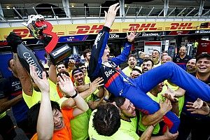 "Kvyat podium setelah ""balapan horor"" di Jerman"