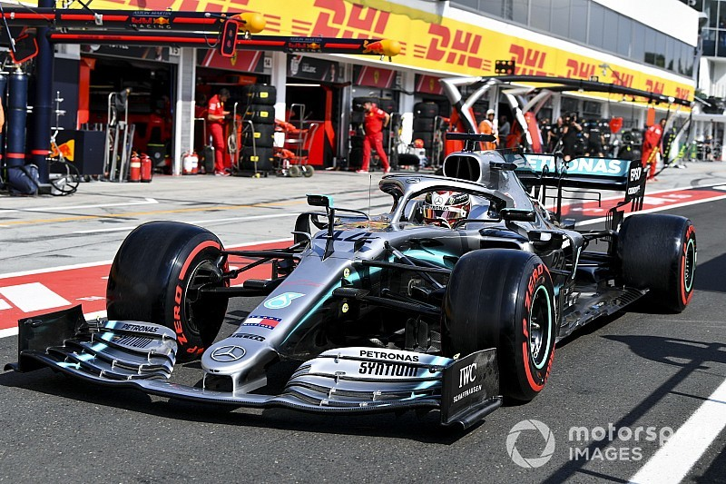 Mercedes most conservative with Spa tyre choices
