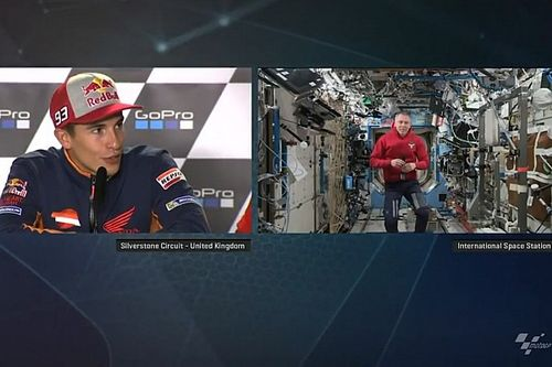 Connecting MotoGP riders with the International Space Station