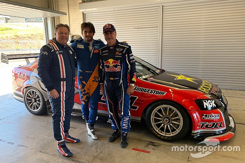 Sainz duo test Bathurst-winning Supercars Holden