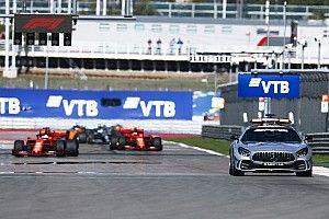 El vuelta a vuelta animado del intenso GP de Rusia