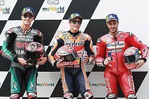 La parrilla de salida del GP de Austria de MotoGP