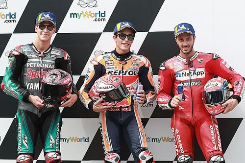 Starting Grid MotoGP Austria 2019