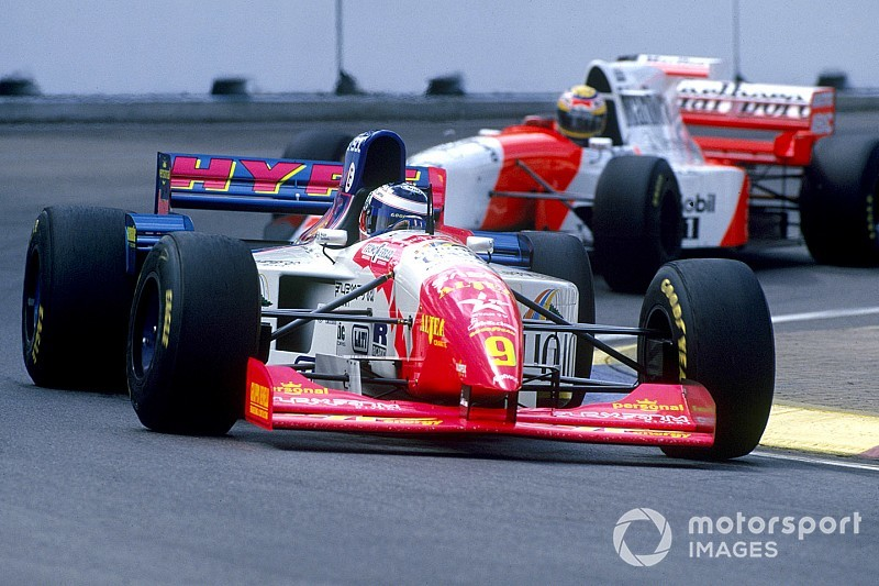 12 novembre 1995 : un podium avec Panis et Morbidelli!