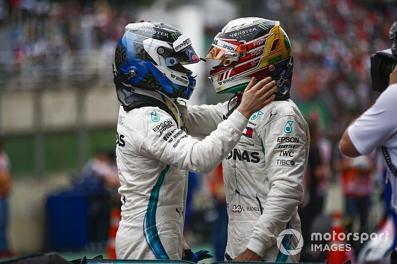 """Bottas: Hamilton """"ne cesse de s'améliorer, c'est impressionnant"""""""
