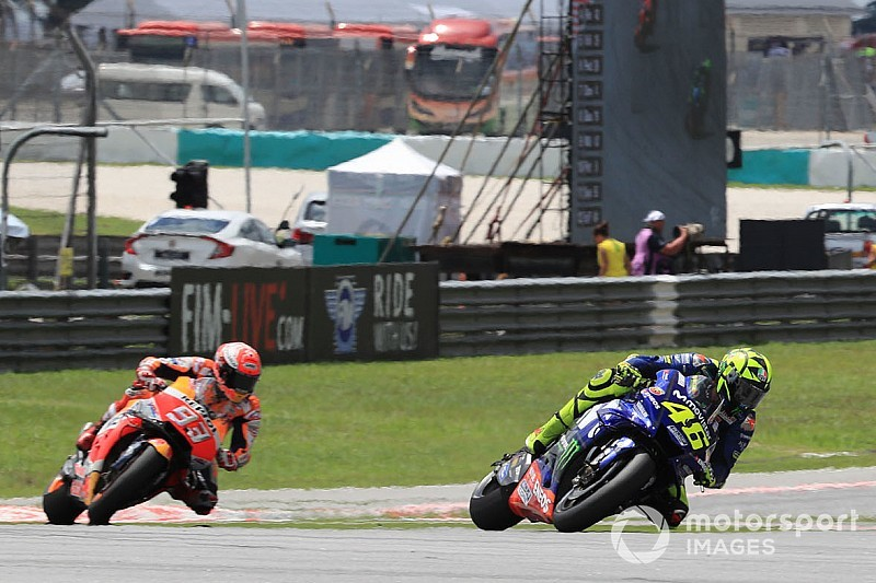 "Marquez ""didn't have anything more"" in Rossi fight"