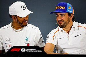 """Hamilton: """"La F1 echará de menos a Alonso"""""""