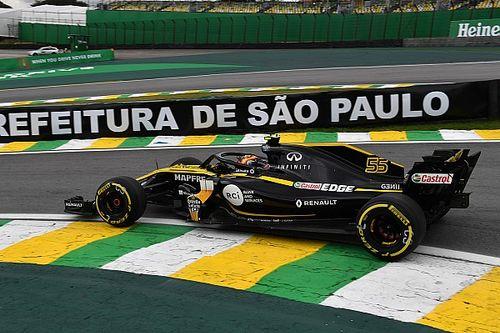 "Renault ""back to reality"" in Brazil, says Sainz"